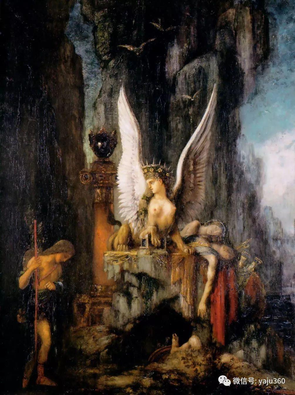 马蒂斯的师傅 法国Gustave Moreau插图97