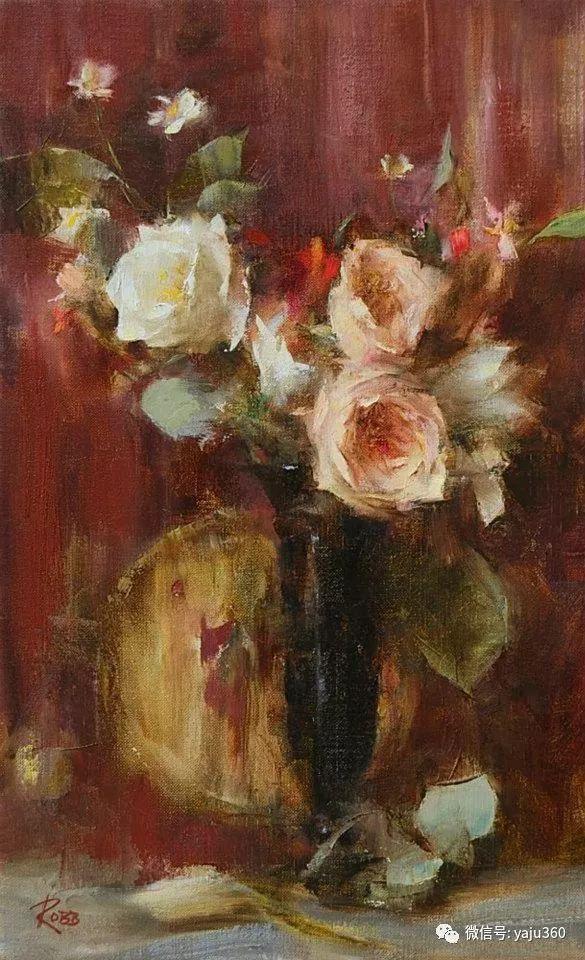 色彩花卉 美国女画家Laura Robb插图1