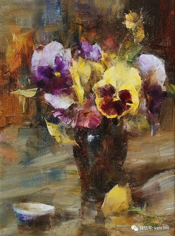 色彩花卉 美国女画家Laura Robb插图3