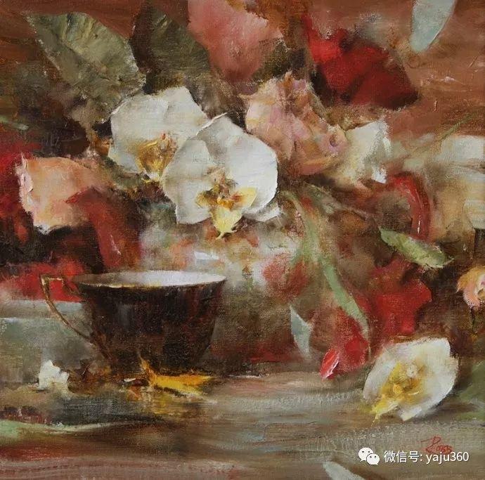 色彩花卉 美国女画家Laura Robb插图5