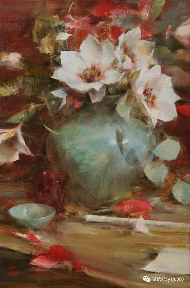 色彩花卉 美国女画家Laura Robb插图9