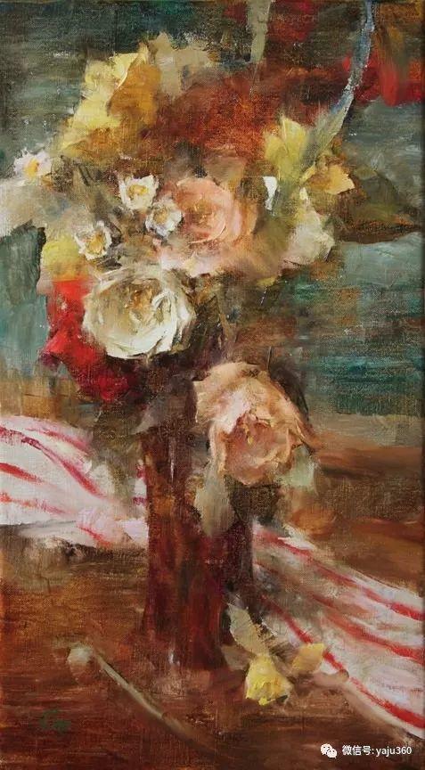 色彩花卉 美国女画家Laura Robb插图11