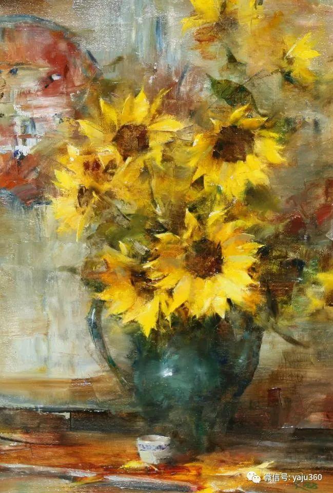 色彩花卉 美国女画家Laura Robb插图17