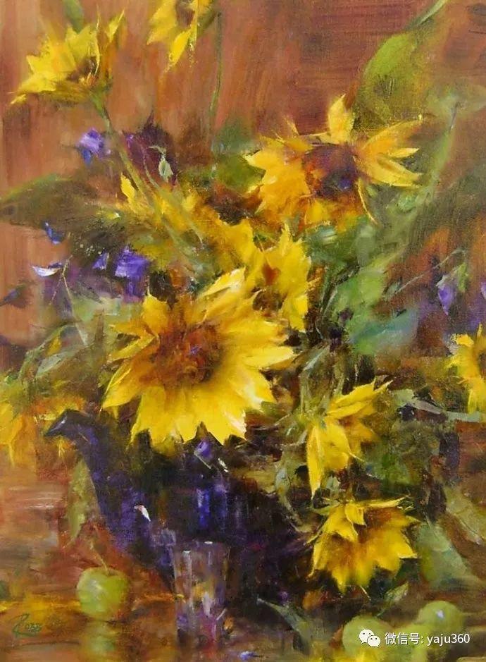 色彩花卉 美国女画家Laura Robb插图19