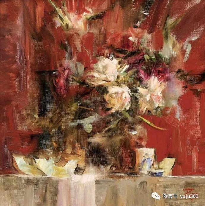 色彩花卉 美国女画家Laura Robb插图23