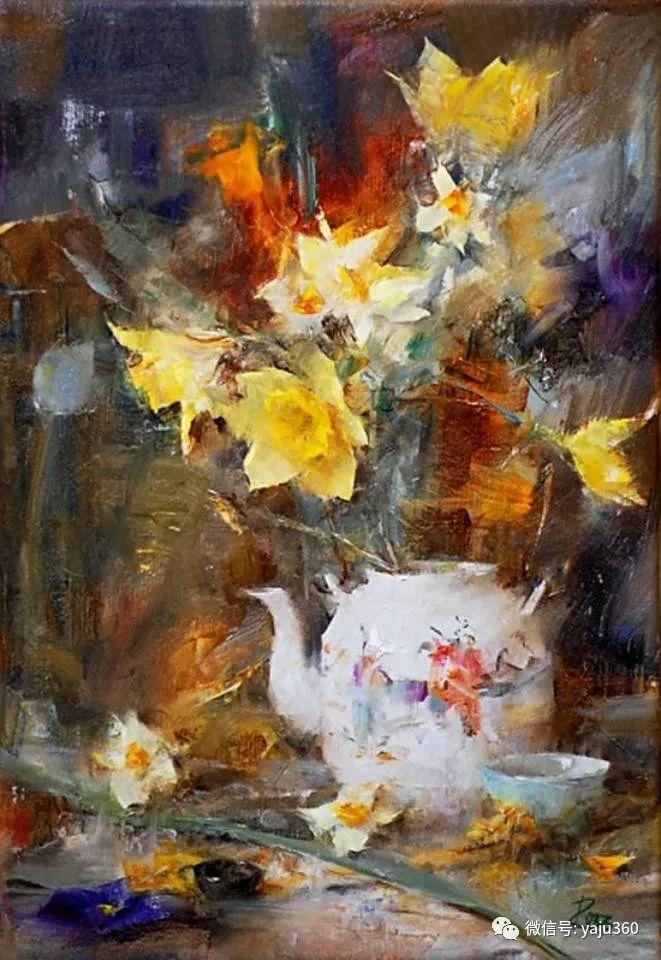 色彩花卉 美国女画家Laura Robb插图25