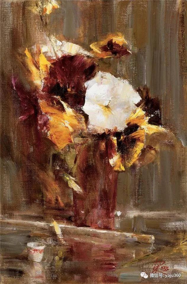 色彩花卉 美国女画家Laura Robb插图27