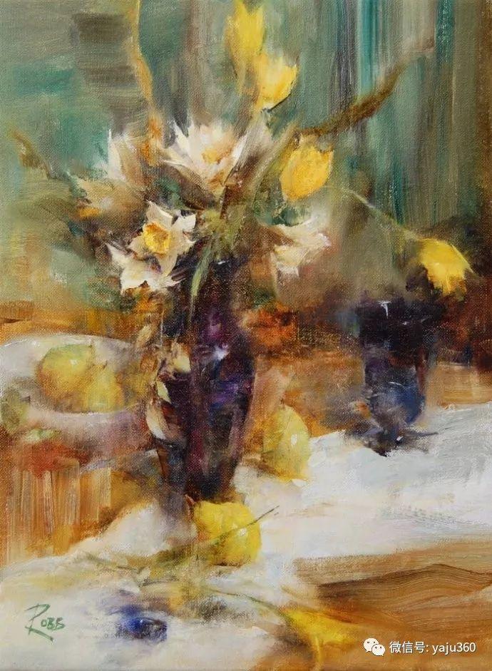 色彩花卉 美国女画家Laura Robb插图29