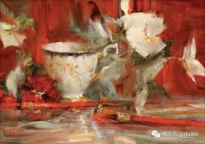 色彩花卉 美国女画家Laura Robb插图31