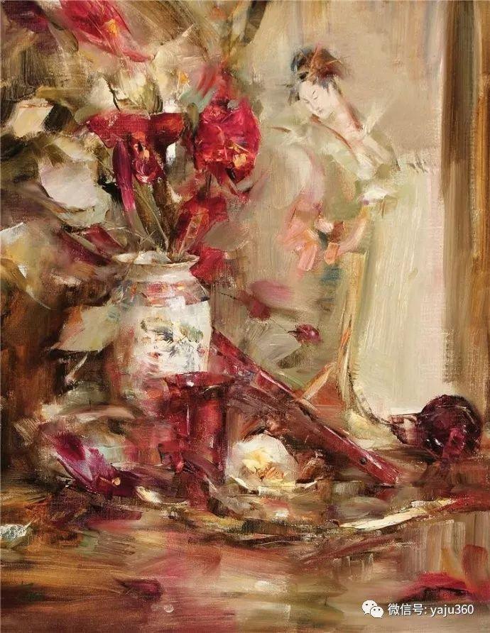 色彩花卉 美国女画家Laura Robb插图35