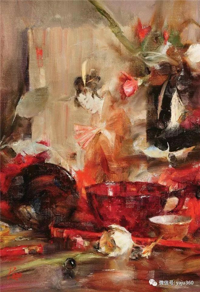 色彩花卉 美国女画家Laura Robb插图37