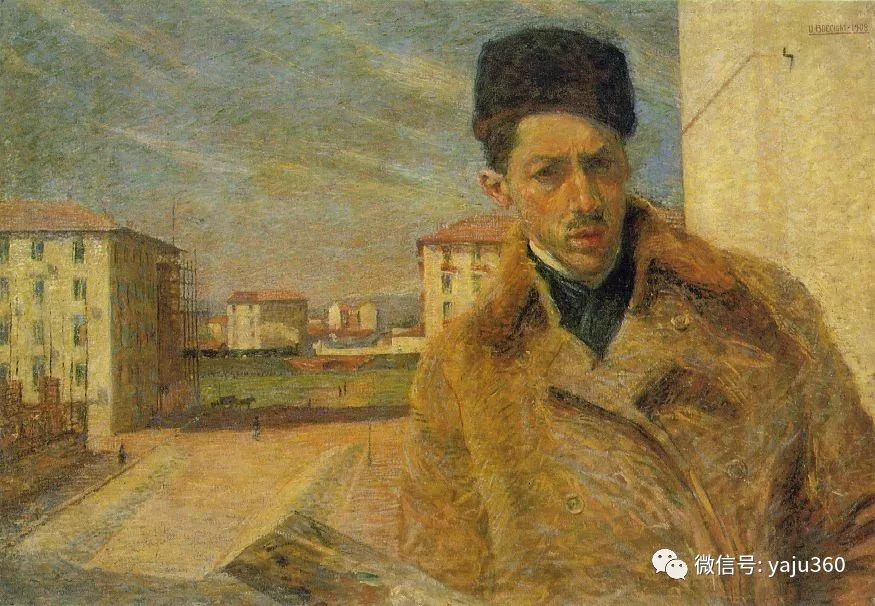 未来主义 意大利画家Umberto Boccioni插图23