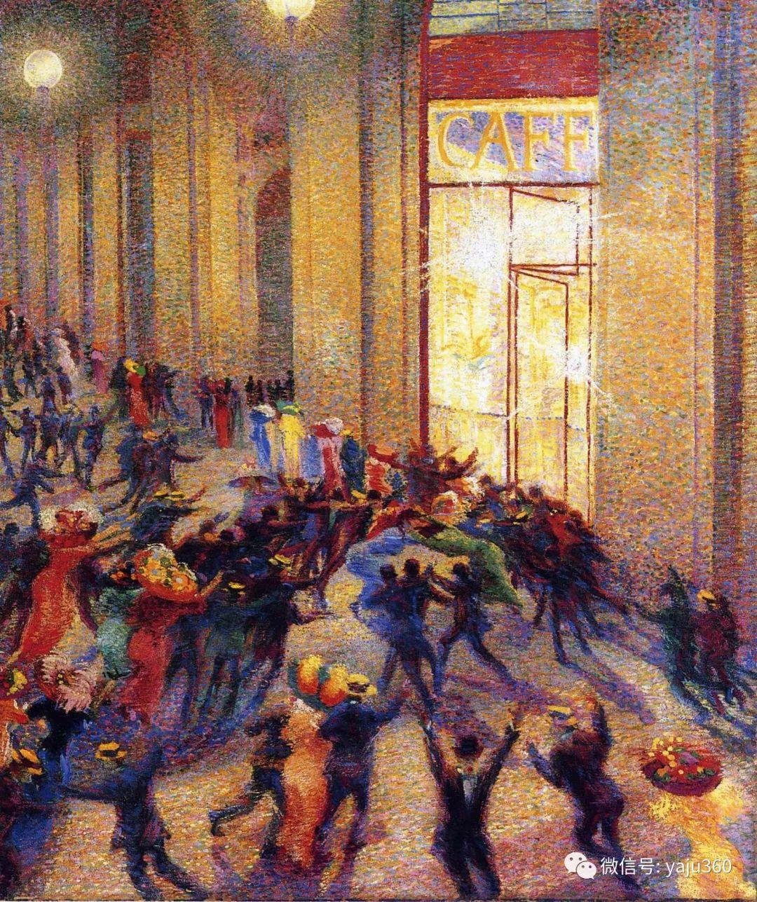 未来主义 意大利画家Umberto Boccioni插图27