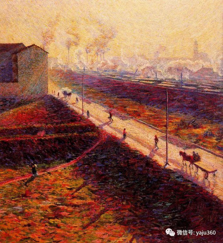 未来主义 意大利画家Umberto Boccioni插图29