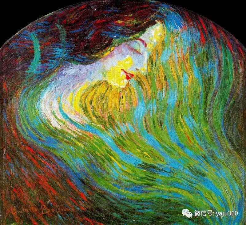 未来主义 意大利画家Umberto Boccioni插图33