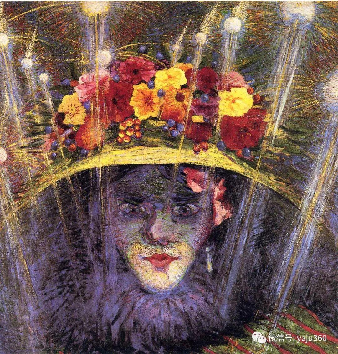 未来主义 意大利画家Umberto Boccioni插图39