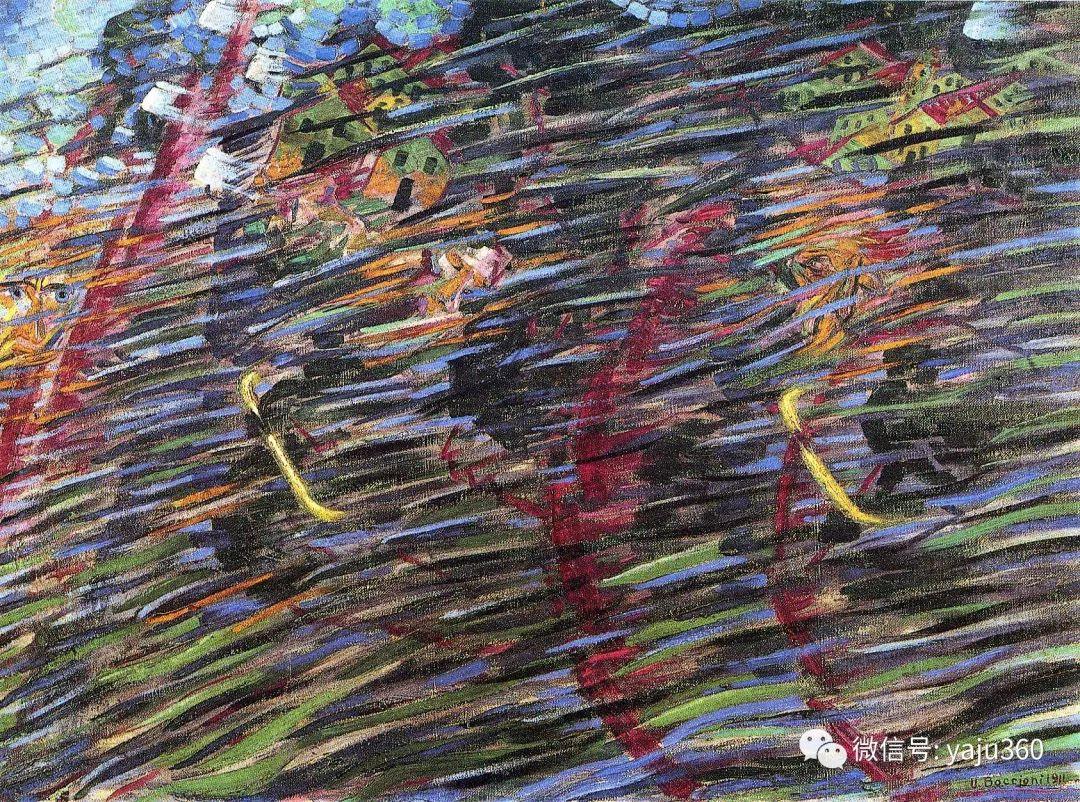 未来主义 意大利画家Umberto Boccioni插图43