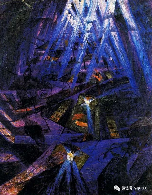 未来主义 意大利画家Umberto Boccioni插图49