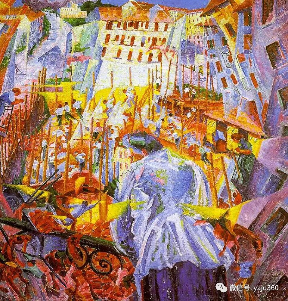 未来主义 意大利画家Umberto Boccioni插图51