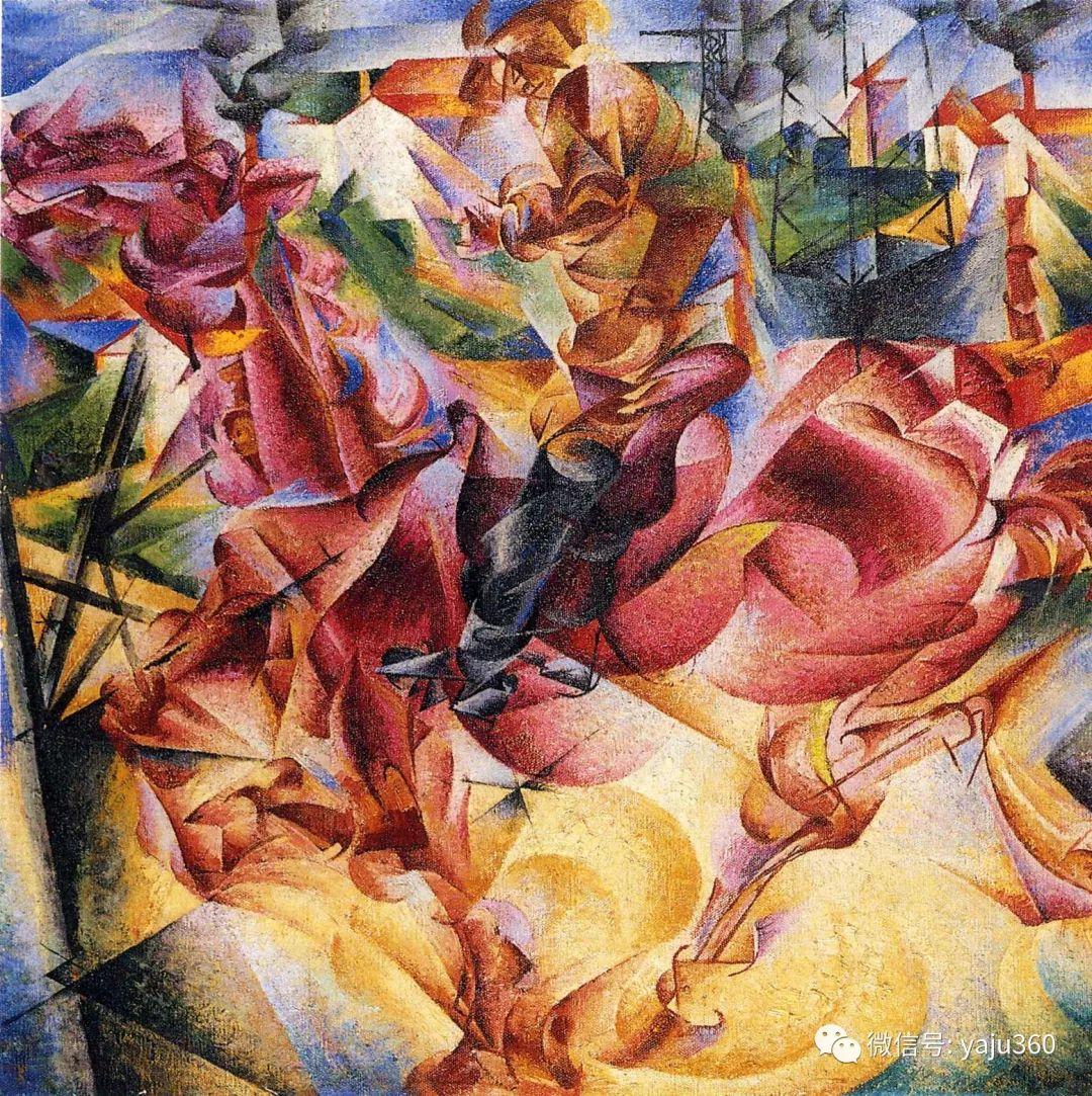 未来主义 意大利画家Umberto Boccioni插图53