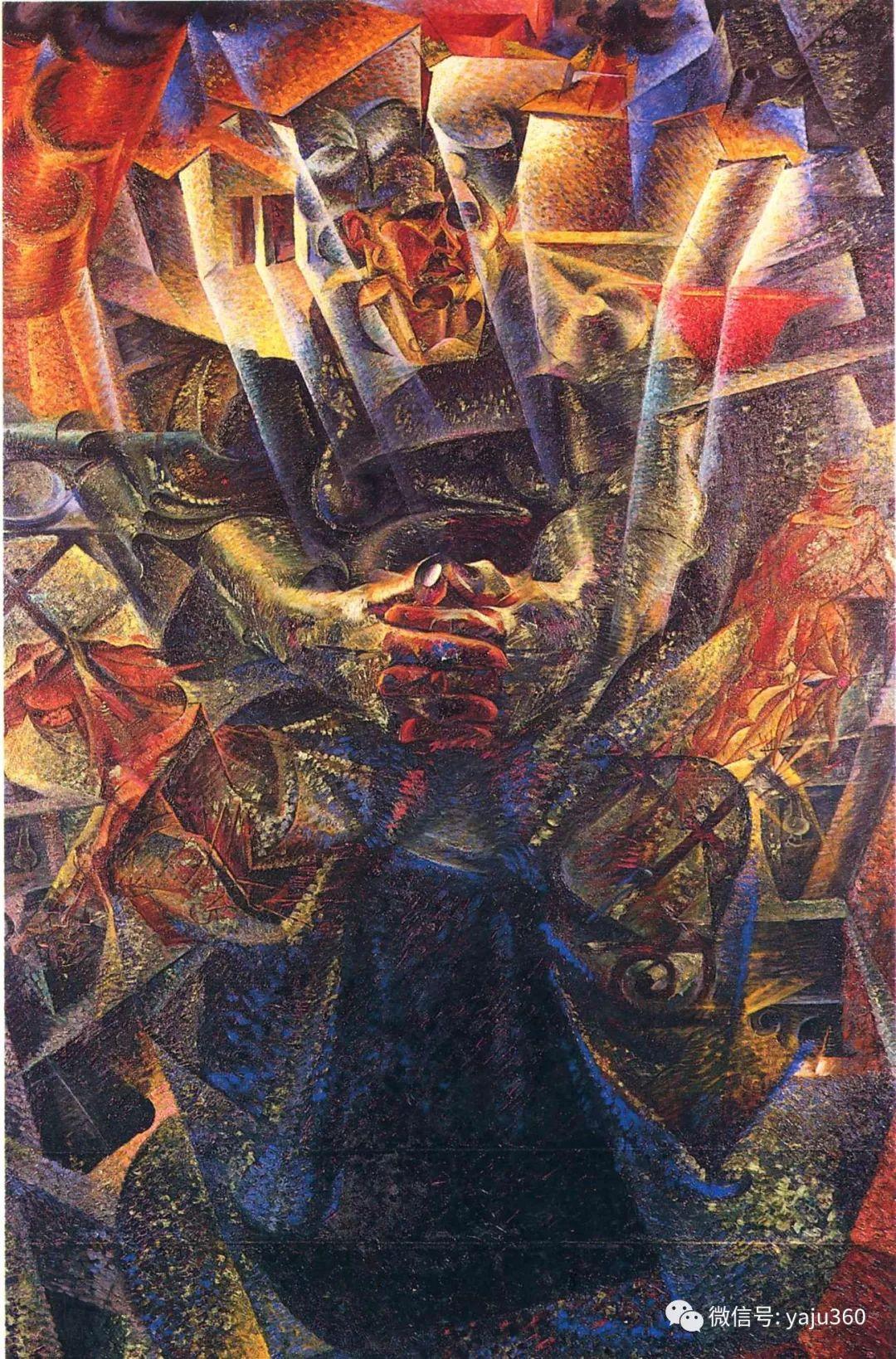 未来主义 意大利画家Umberto Boccioni插图55
