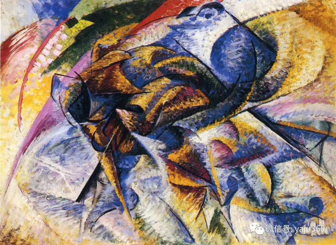 未来主义 意大利画家Umberto Boccioni插图59