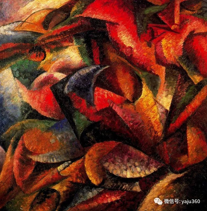 未来主义 意大利画家Umberto Boccioni插图61