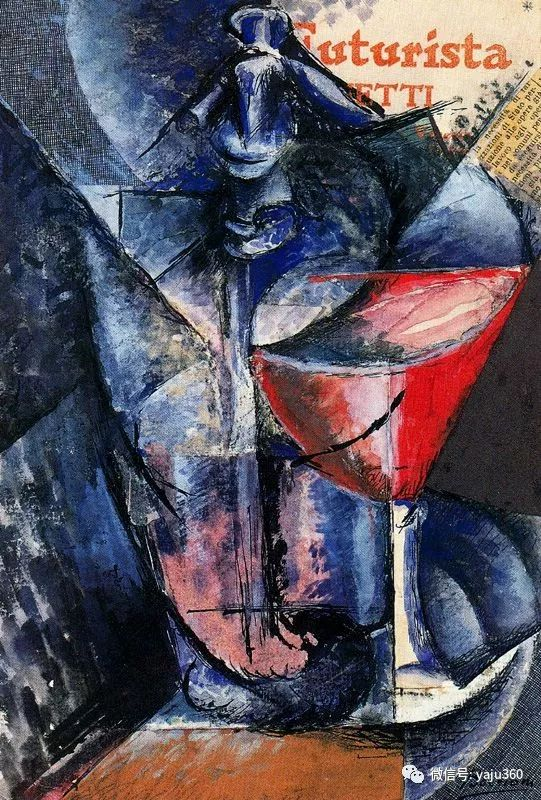 未来主义 意大利画家Umberto Boccioni插图65