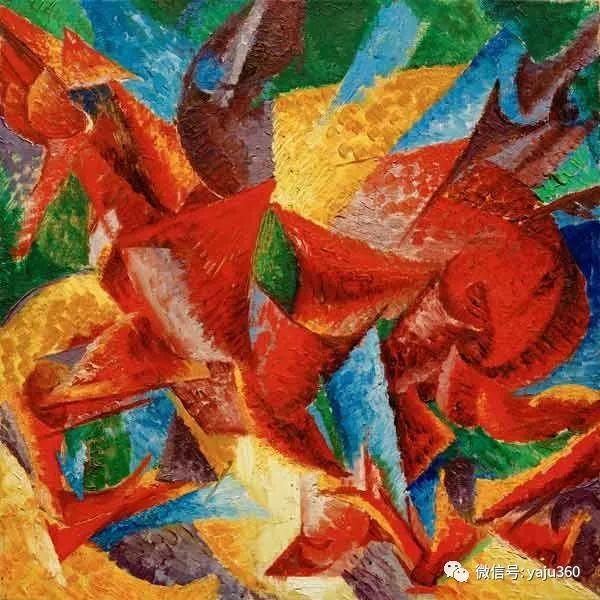 未来主义 意大利画家Umberto Boccioni插图67