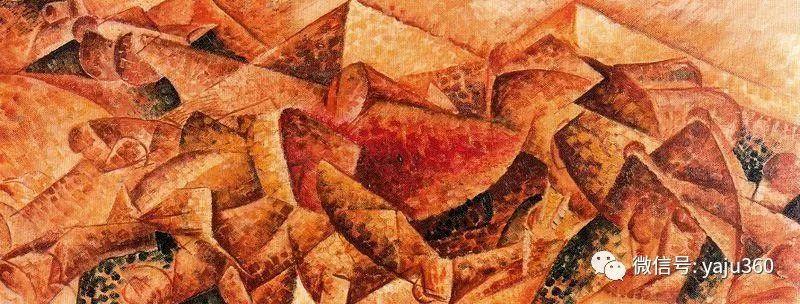 未来主义 意大利画家Umberto Boccioni插图69
