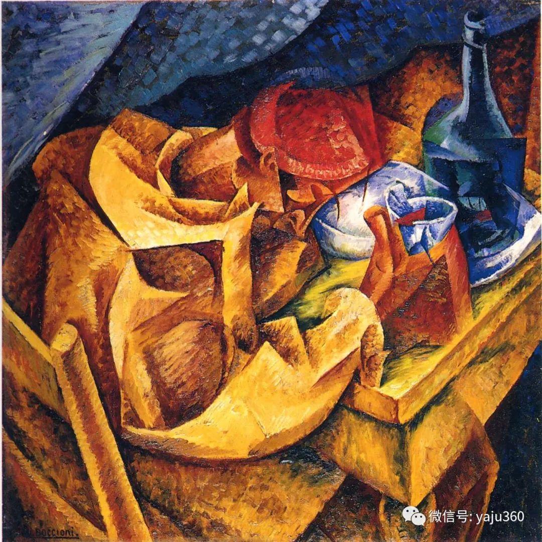 未来主义 意大利画家Umberto Boccioni插图71