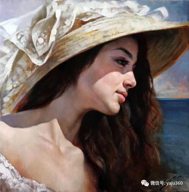 女性油画作品 意大利Gianni Strino插图1