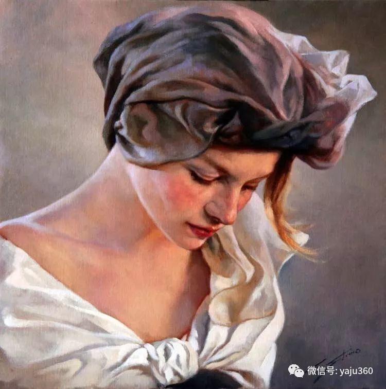 女性油画作品 意大利Gianni Strino插图3