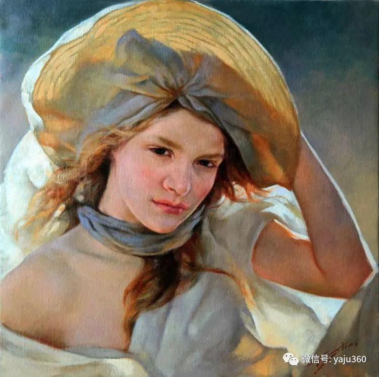 女性油画作品 意大利Gianni Strino插图5