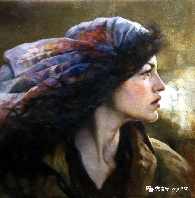 女性油画作品 意大利Gianni Strino插图7