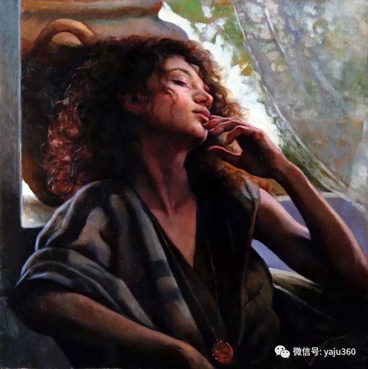 女性油画作品 意大利Gianni Strino插图11