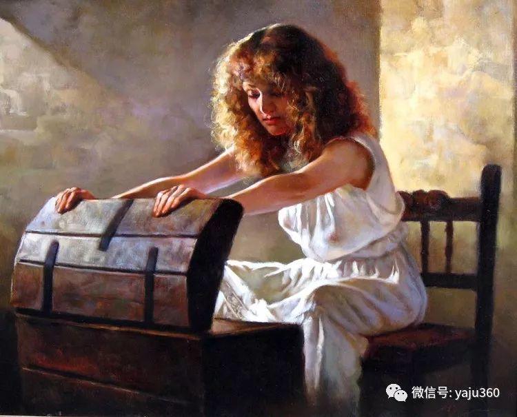 女性油画作品 意大利Gianni Strino插图19