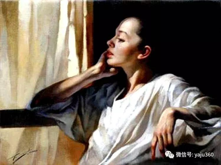 女性油画作品 意大利Gianni Strino插图23