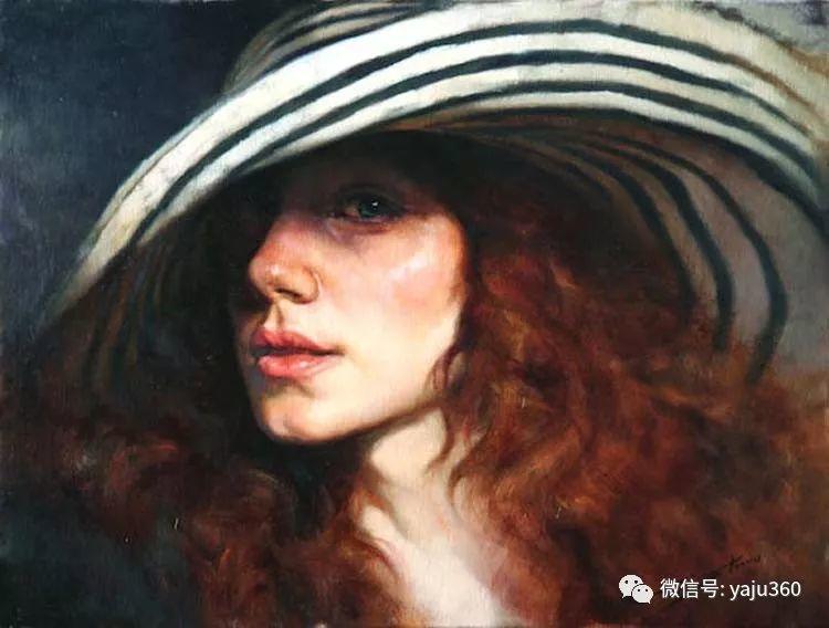 女性油画作品 意大利Gianni Strino插图27