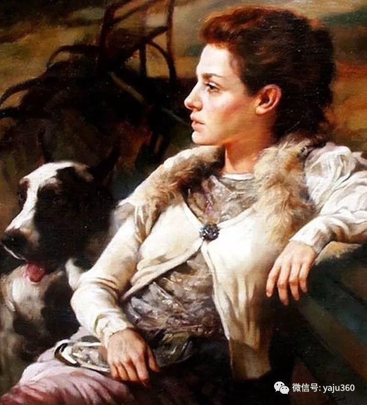 女性油画作品 意大利Gianni Strino插图41