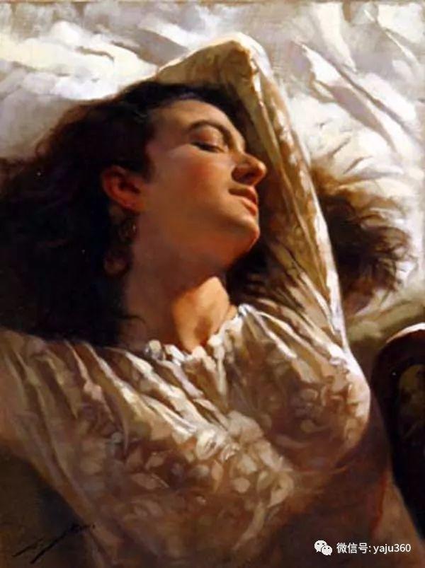 女性油画作品 意大利Gianni Strino插图51