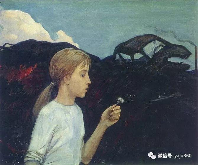 俄罗斯Ilya Glazunov油画作品插图