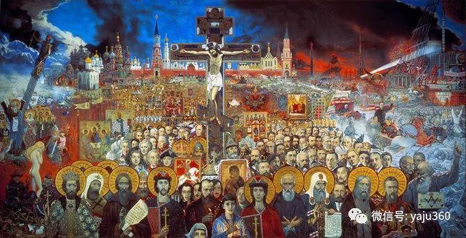 俄罗斯Ilya Glazunov油画作品插图3
