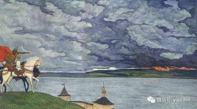 俄罗斯Ilya Glazunov油画作品插图4