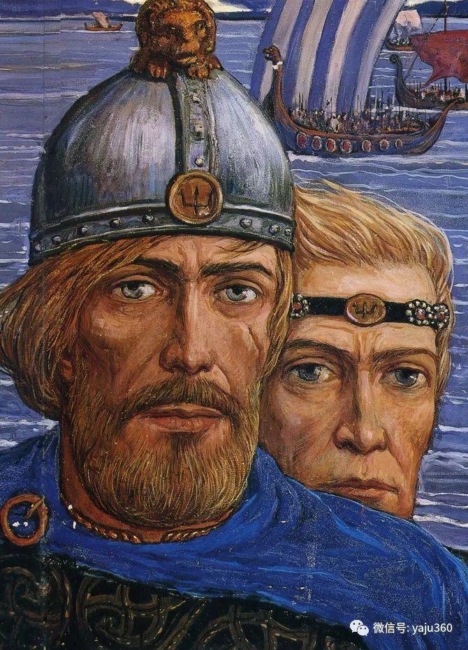 俄罗斯Ilya Glazunov油画作品插图5