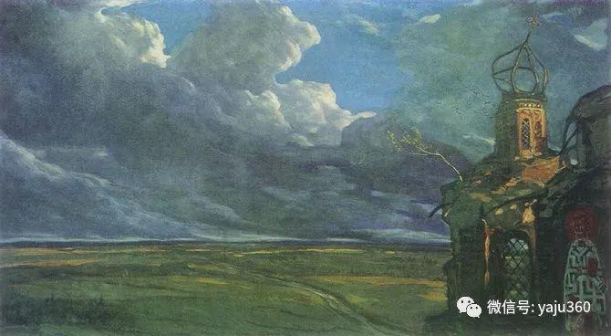 俄罗斯Ilya Glazunov油画作品插图6