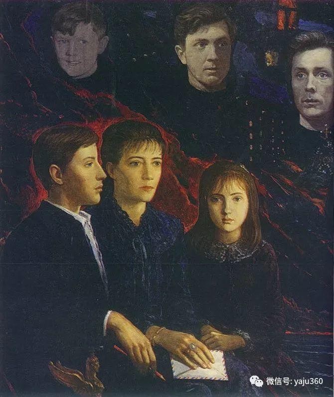 俄罗斯Ilya Glazunov油画作品插图12