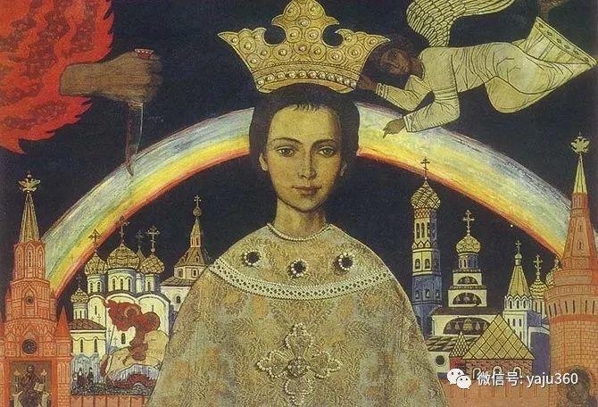 俄罗斯Ilya Glazunov油画作品插图22