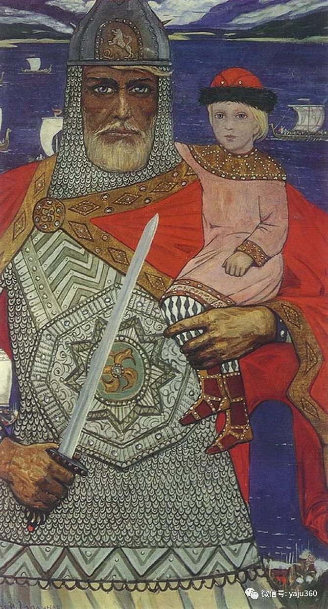 俄罗斯Ilya Glazunov油画作品插图25