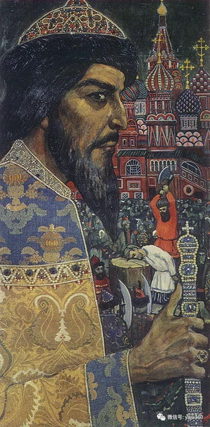俄罗斯Ilya Glazunov油画作品插图26